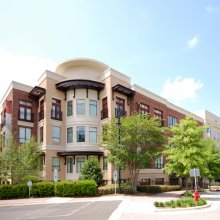 Apartment rentals exterior building in Durham, NC
