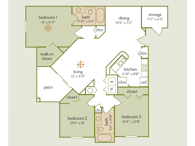 Overview Addison Park Apartments In Tampa Fl