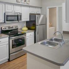 Apartment rentals interior media room in Overland Park, Kansas