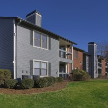 Apartment rentals exterior building in Antioch, Tennessee