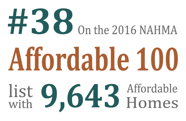 Cambridge placed at number 38 on the 2016 NAHMA Affordable 100 list. Read More.