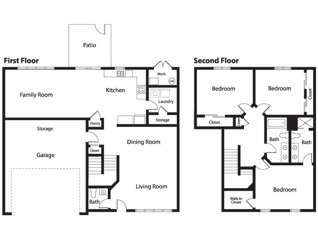 Hickam Air Force Base Housing Floor Plans