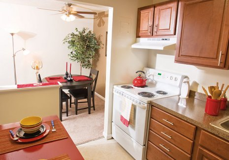 Fully equipped kitchens in our Parma apartments