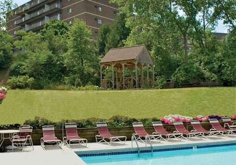 Relaxing pool | apartments in Parma at Midtown Towers