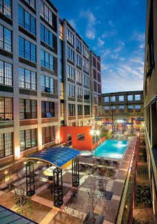 Richmond Virginia Apartments | Courtyard