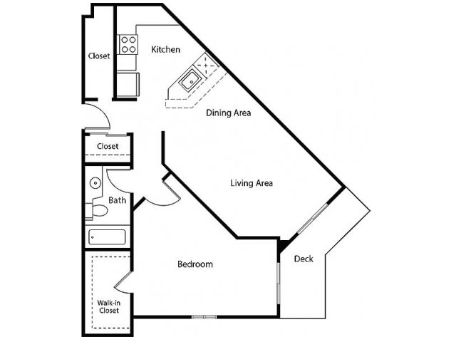 Floor Plan 12 | Bayside Village Apartments