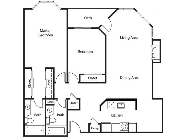 Floor Plan 21 | Bayside Village Apartments