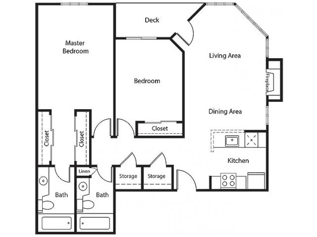Floor Plan 23 | Bayside Village Apartments