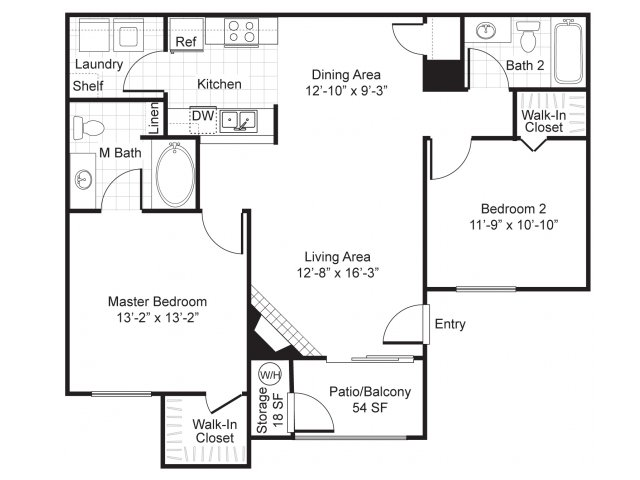 one two and three bedroom apartments in las vegas nv