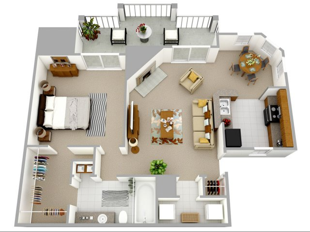 1, 2, and 3 bedroom apartments in charlotte, nc | reafield village