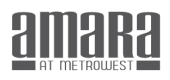 Logo for Amara at Metrowest in Orlando, FL