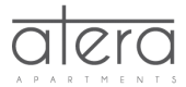 Logo for Atera Apartments in Uptown Dallas, TX