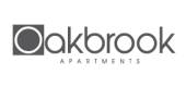 Landing logo for Oakbrook Apartments in Charlotte, NC.