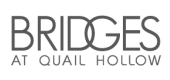 Logo for the Bridges at Quail Hollow Apartments in Charlotte, NC