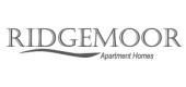 Logo for Ridgemoor Apartment Homes in Lakewood, CO