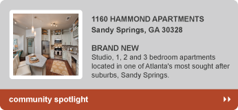 1160 Hammond Apartments in Sandy Springs, GA