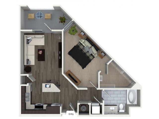 1 Bedroom Bath Apartments For Snsm155 Com