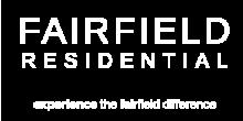 Fairfield Residential logo for Ellington Apartments in Davis, CA