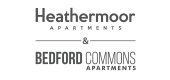 Logo for Heathermoor and Bedford Commons Apartments in Columbus, OH