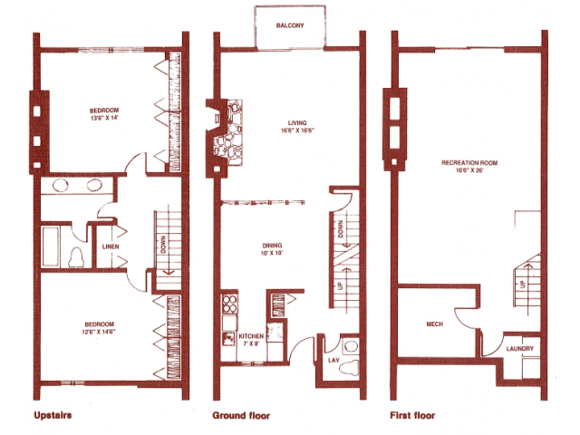 2 Bed 15 Bath Apartment in GRAND RAPIDS MI Regency Park