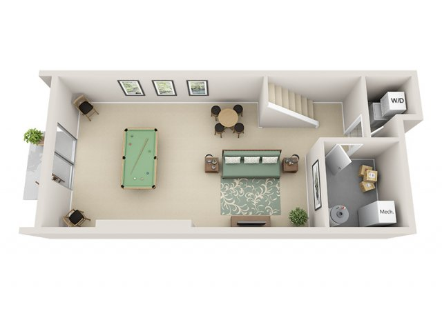 Basement Apartment Floor Plans 2 Bed 15 Bath Apartment In GRAND RAPIDS MI  Regency Park.