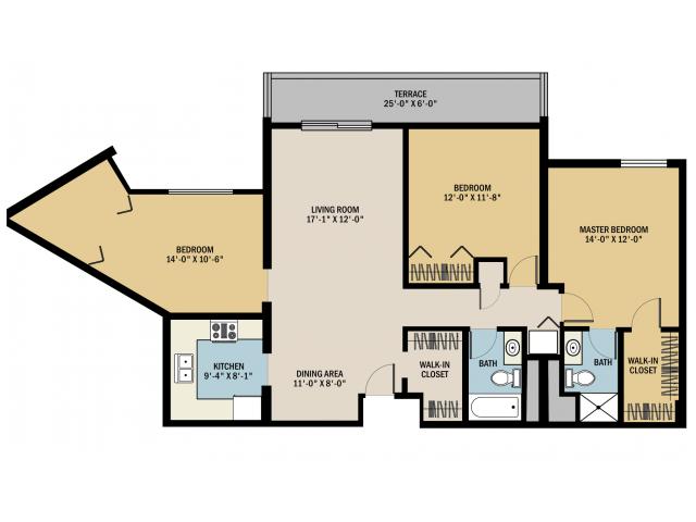 bed 2 bath apartment in grand rapids mi viewpointe apartments