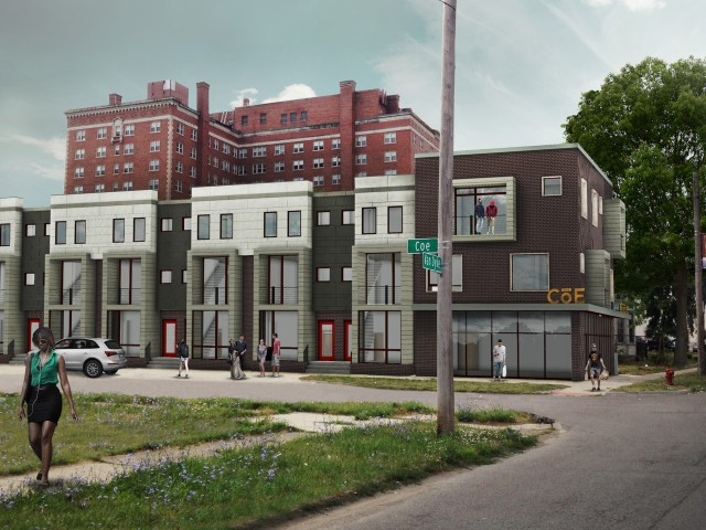 Image of Unique Two Bedroom Townhomes for The Coe at West Village