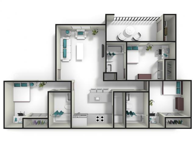 One Bedroom Apartments In Auburn Al S Home De