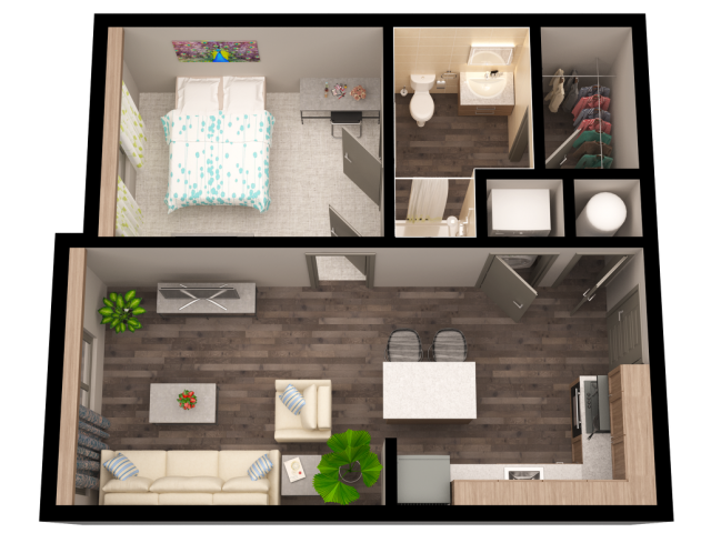 studio - 4 bed apartments | the vista