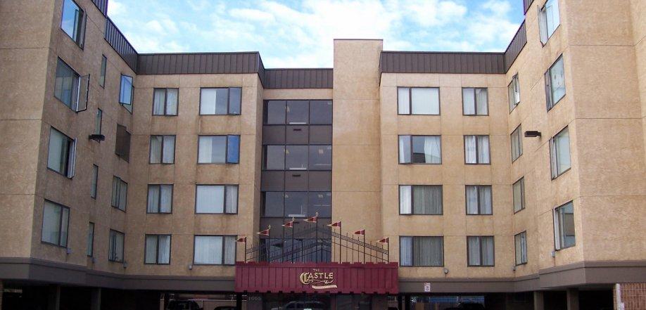 picture of castle apartment exterior