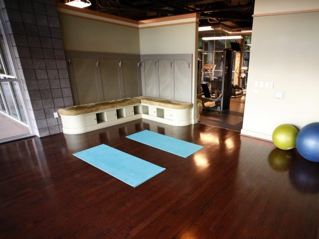Image of Yoga and Meditation studio for Skyline Lofts Apartment Homes