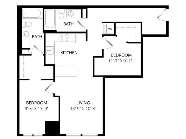 2 Bedroom BB