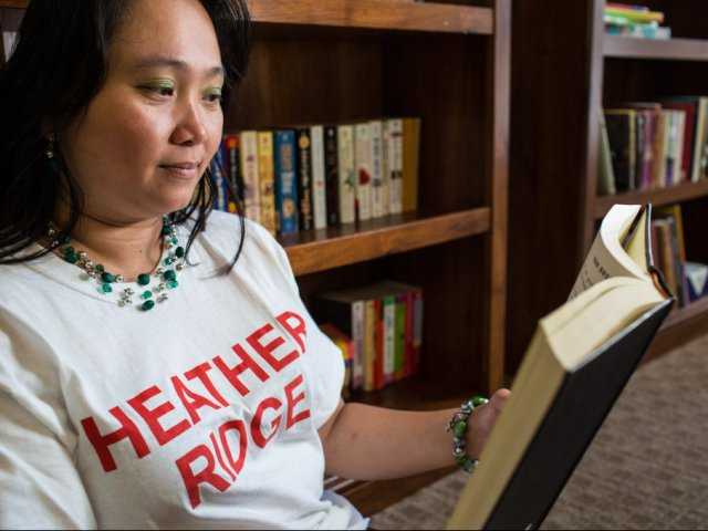 Image of Lending Library in the Clubhouse for Heather Ridge