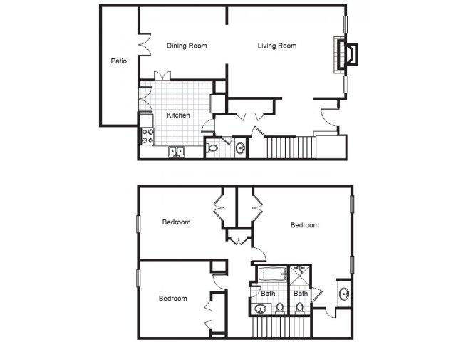 Three Bedroom