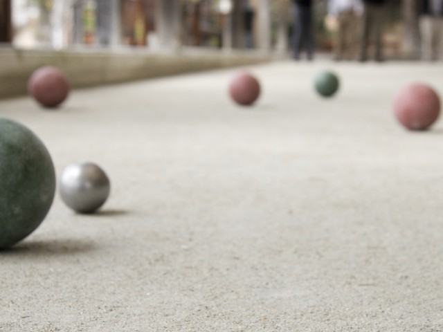 Image of Bocce Ball Court for Portiva