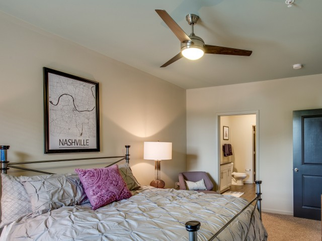Image of Ceiling Fans in All Bedrooms for The Cleo East Nashville