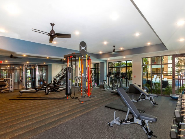 Image of Yoga/Cross Training Center with Fitness on Demand Kiosk for 1760 Apartment Homes