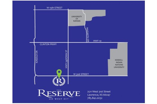 Property Map | Student Housing near University of Kansas