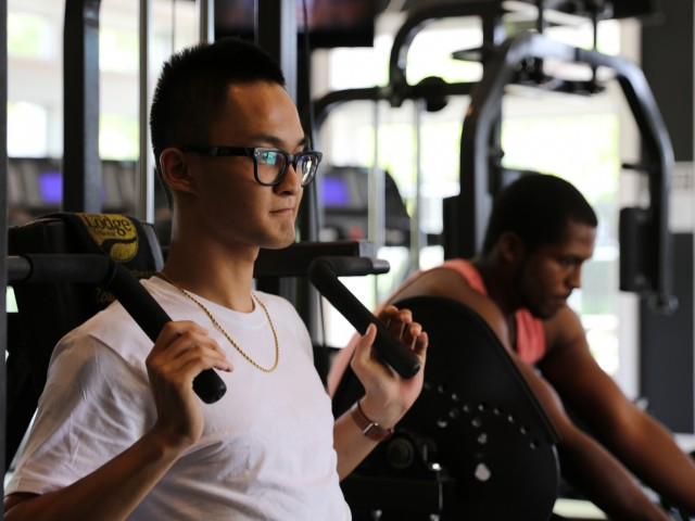 Purdue Apartments With A Fitness Center | The Lodge on the Trail in West Lafayette, IN