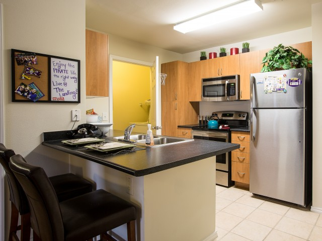 The Landing | ECU Apartments With A Washer And Dryer In Unit