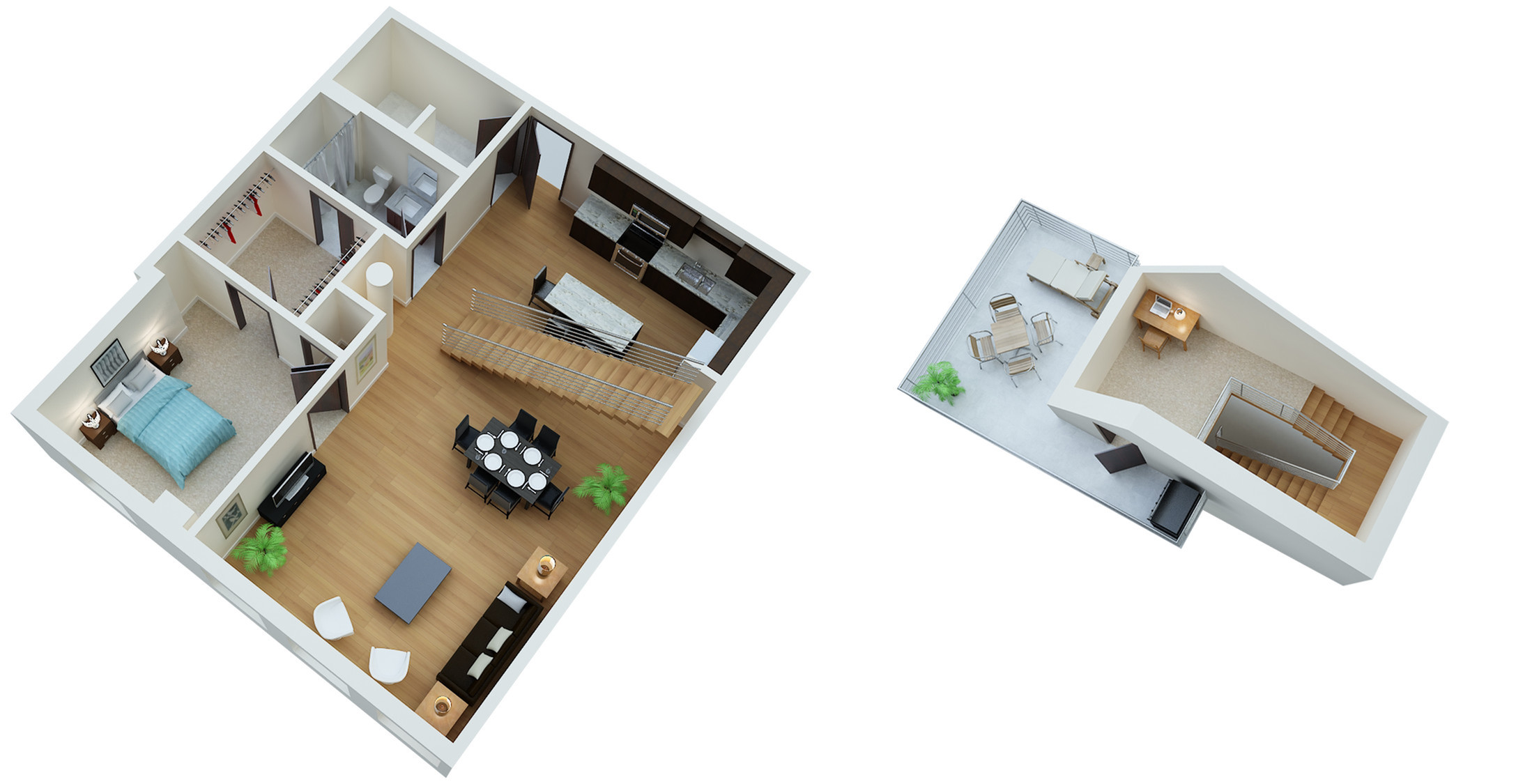 Design Studio 3 Bed Apartments 333 On The Park