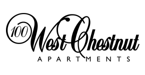100 West CHestnut Apartments Logo