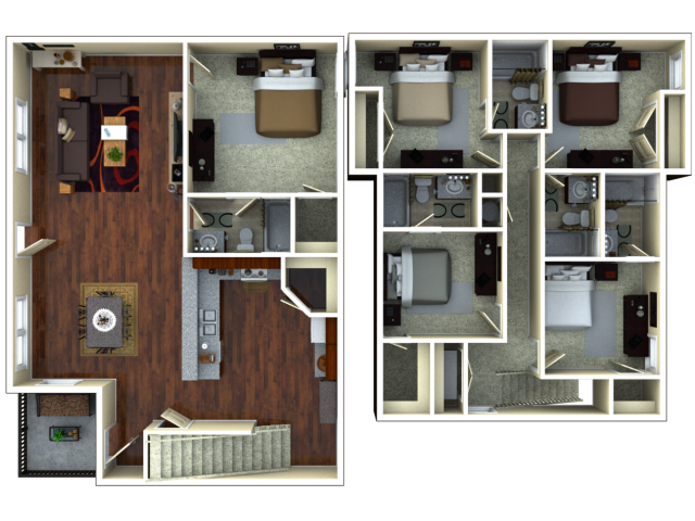 Captivating For The 5 Bedroom 5 Bathroom Floor Plan.