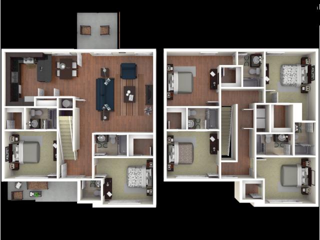 6 bedroom apartments tucson