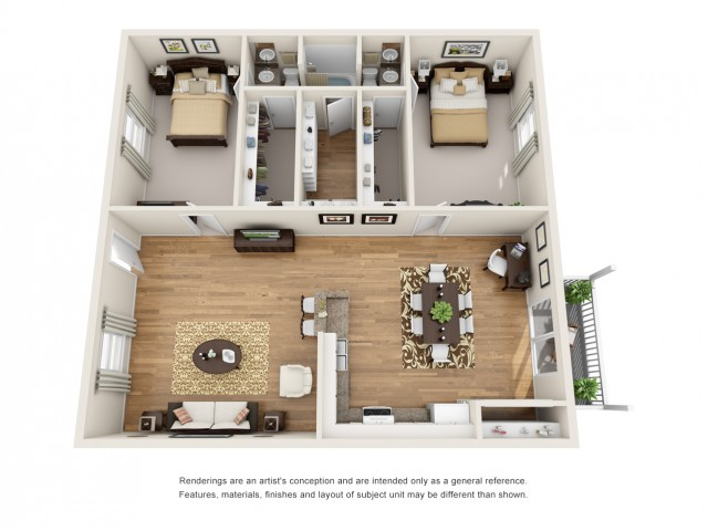 2 bedroom apartment laurel ridge