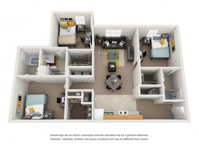 3 bedroom apartment in durham nc