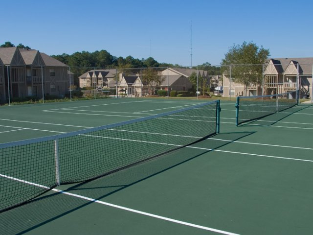 Image of Tennis Court for Central Park Apartments