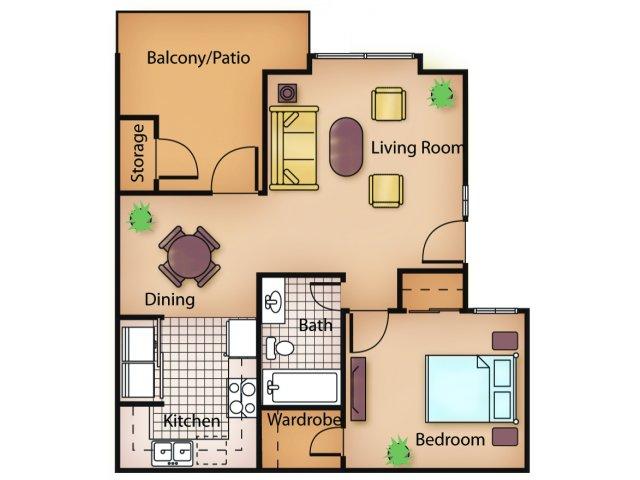 One Bedroom Apartments in Sacramento | Ashford Park