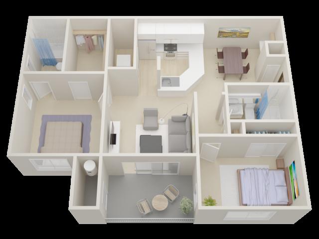 Two bedroom Apartments in Moorpark   Waterstone at Moorpark
