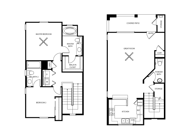 Stoneham Floor Plan | Everett Apartment Homes | Apartments in Las Vegas